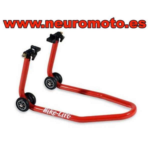 CABALLETE MOTO BIKE LIFT adaptadores de goma incluidos (trasero)