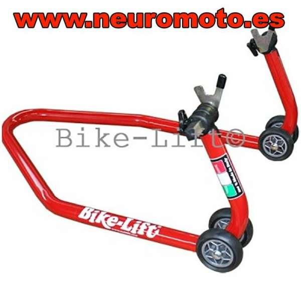 CABALLETE MOTO BIKE LIFT soportes V para diabolos incluidos (trasero)