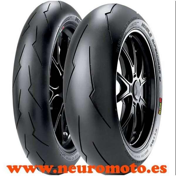 JUEGO Pirelli Diablo Supercorsa SP V2 120/70ZR17 (58W) + 180/55ZR17 (73W)
