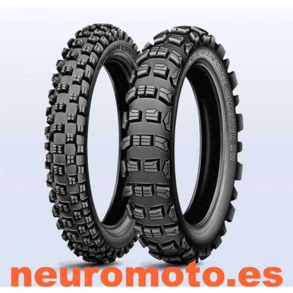 Michelin Cross competicion M12 XC 120/80 - 19 63M Rear TT