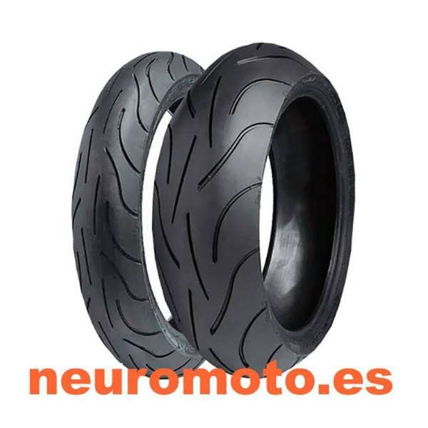 Juego Michelin Pilot Power 120/60ZR17-55W+160/60ZR17-69W
