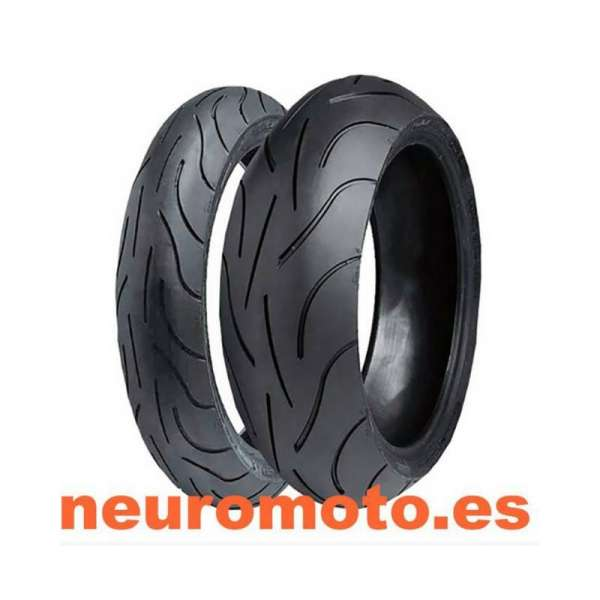 Juego Michelin Pilot Power 120/70ZR17-58W+160/60ZR17-69W