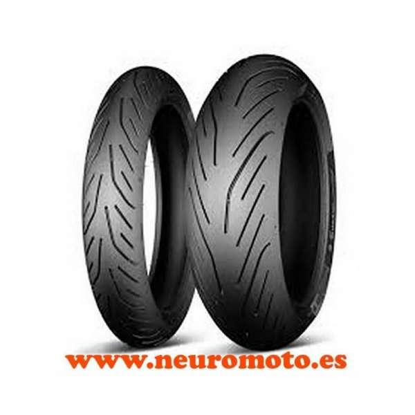 Juego Michelin Pilot Power 3 120/70ZR17-58W+160/60ZR17-69W