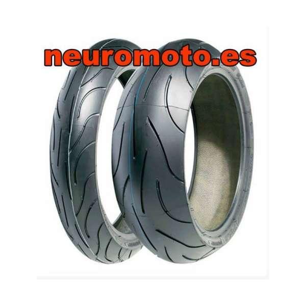 Juego Michelin Pilot Power 2ct 120/70ZR17 M/C (58W) +160/60ZR17 M/C (69W)