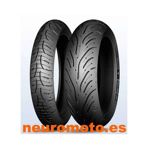 JUEGO Michelin Pilot Road 4 120/70ZR17-58W + 190/50ZR17-73W
