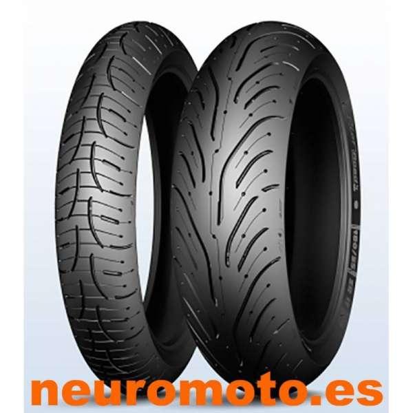 JUEGO Michelin Pilot Rroad 4 120/70ZR17 58W + 160/60ZR17 69W