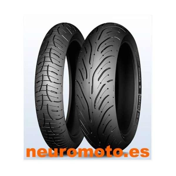 JUEGO Michelin Pilot Road 4 120/70ZR17 (58W) + 180/55ZR17 (73W)