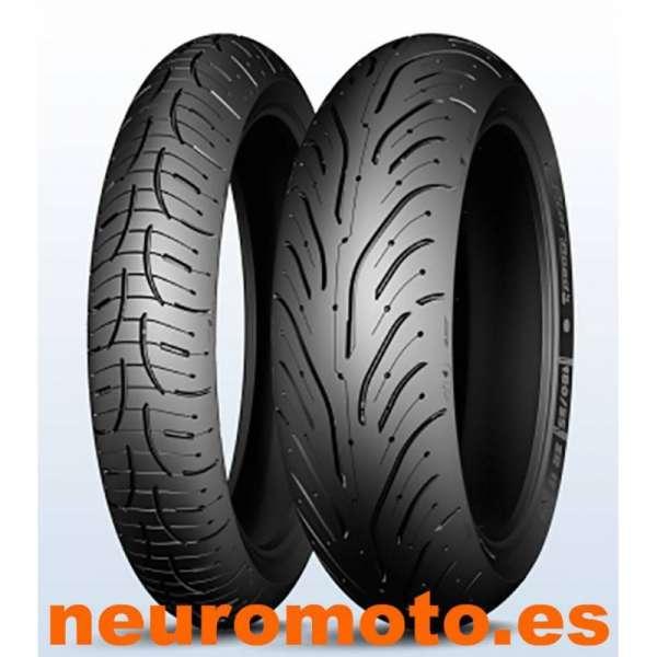 JUEGO Michelin Pilot Road 4 GT 120/70zr17-58W+190/50zr17-73W