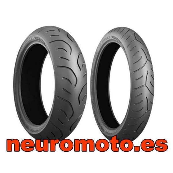 Juego bridgestone T30 EVO GT 120/70ZR17 (58W) + 180/55ZR17 (73W)