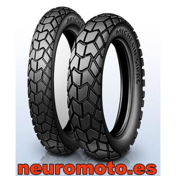 Michelin Sirac Rear 130/80-17 TT/TL 65T M/C