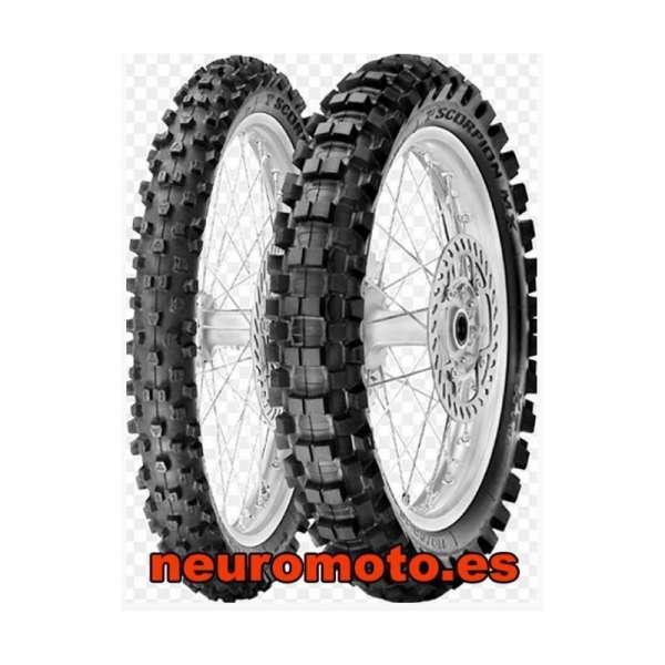Pirelli Scorpion MX Hard 486 Rear 100/90 - 19 57M NHS