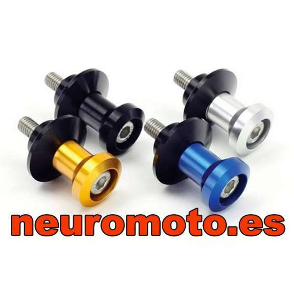 DIABOLOS MICRA 6mm NEGRO (2 unidades)