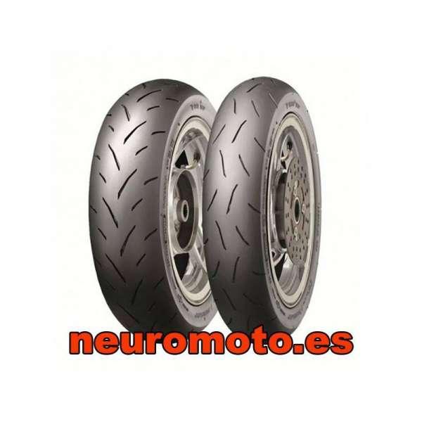 Dunlop tt93 GP 3.50 - 10 51J TL front/rear