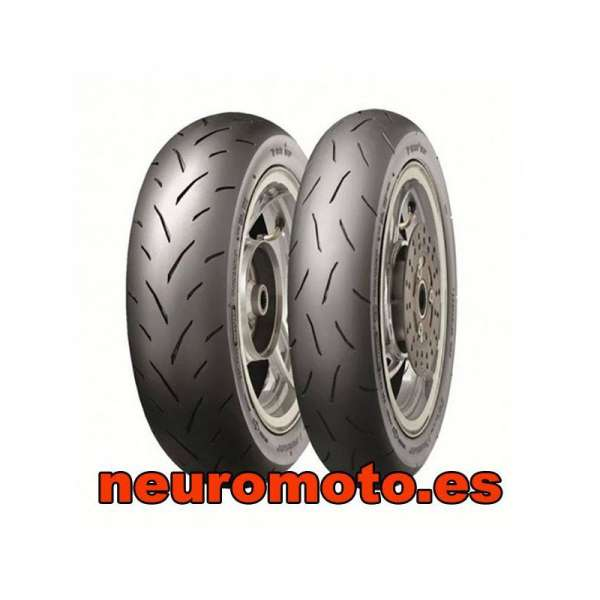 Dunlop TT93 GP 100/90-12 49J + 120/80-12 55J (S)