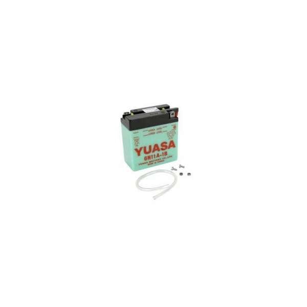 Batería moto yuasa 6n11a-1b