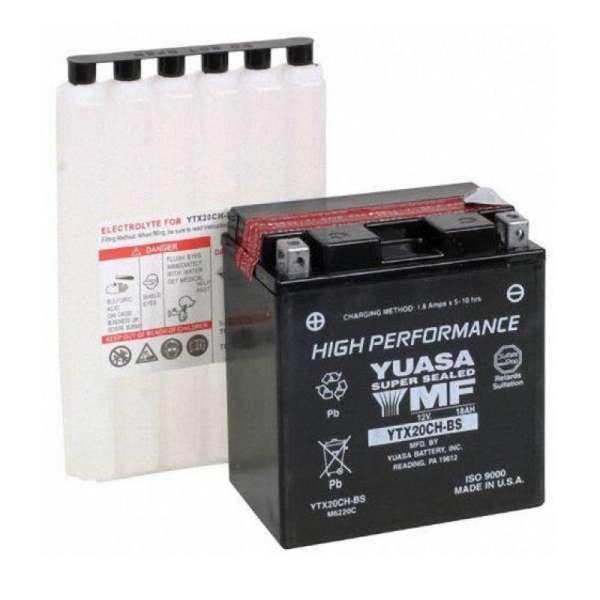 Bateria Moto Yuasa Ytx20ch-Bs