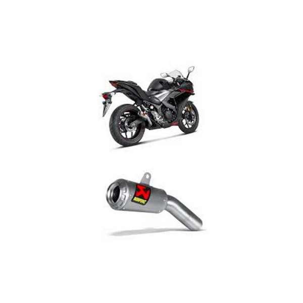 Escape Akrapovic Yamaha YZF-R25/YZF-R3 S-Y2SO11-AHCSS