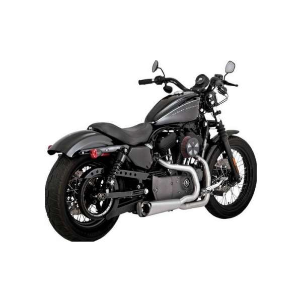 VANCE & HINES escape Sportster COMPETITION SERIES 2-INTO-1