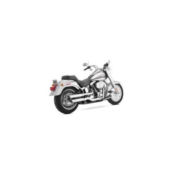 VANCE & HINES harley davidson Twin Slash Slip-On Mufflers