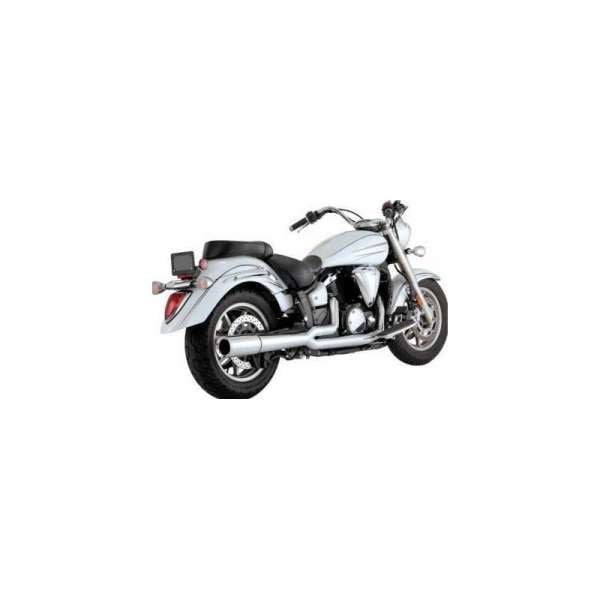VANCE & HINES YAMAHA XVS 1300 A Midnight Star Pro Pipe Chrome