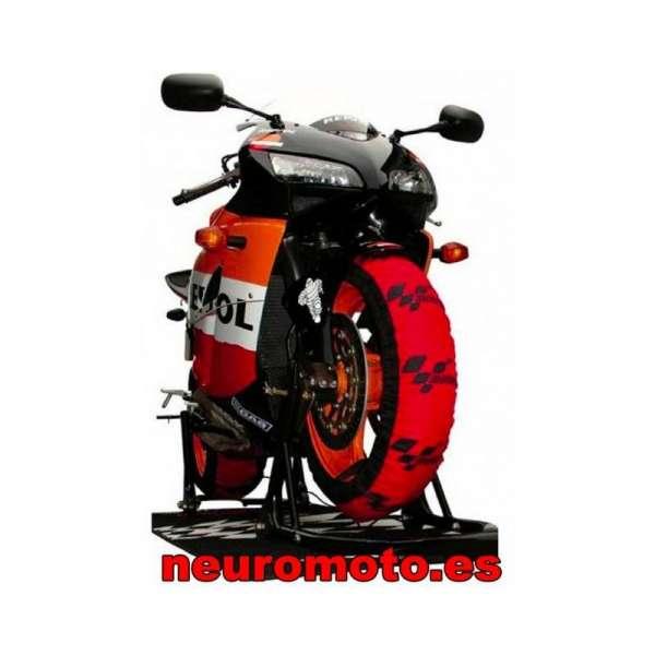 PACK CALENTADORES MOTOGP + Dunlop D212 GP Racer slick 120/70ZR17 (M) + 190/55ZR17 (M)