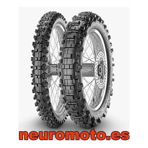 Juego Metzeler MCE 6 Days Extreme 90/100-21 M/C 57M TT + 140/80 - 18 70m M+S M/C R