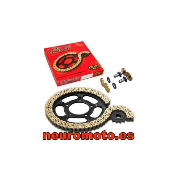 KIT TRANSMISION REGINA (15/48/108 X 520) DUCATI MONSTER/MULTISTRADA 620