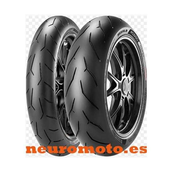 JUEGO Pirelli Diablo Rosso Corsa 120/70ZR17-(58W) + 180/60ZR17 (75W) TL