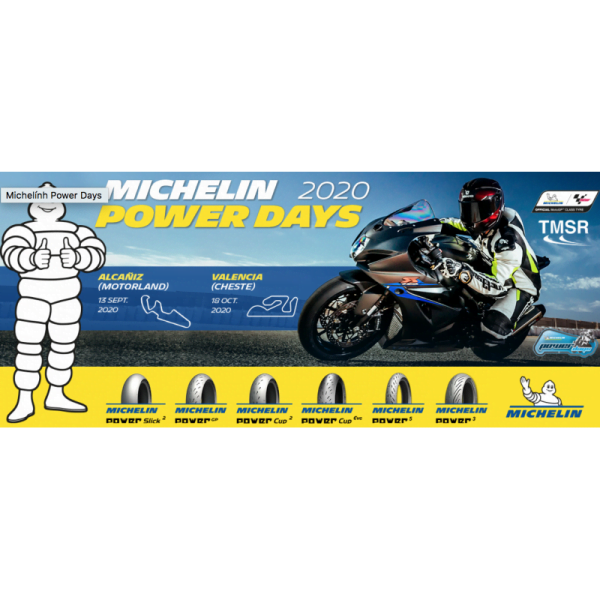 TARJETA MICHELIN POWER DAYS 2020