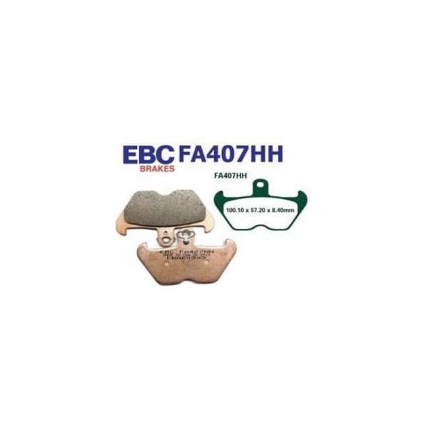PASTILLAS DE FRENO EBC FA407HH SINTERIZADAS