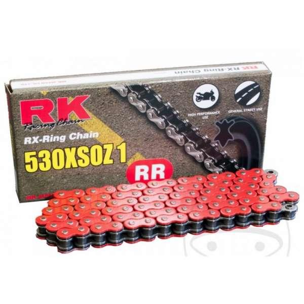 CADENA ABIERTA CON ENGANCHE REMACHE RK X-RING 530XSOZ1/114