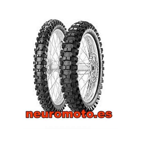 Pirelli Scorpion MX Extra 80/100 - 21 M/C 51M TT + 110/90-19 62M NHS R TT