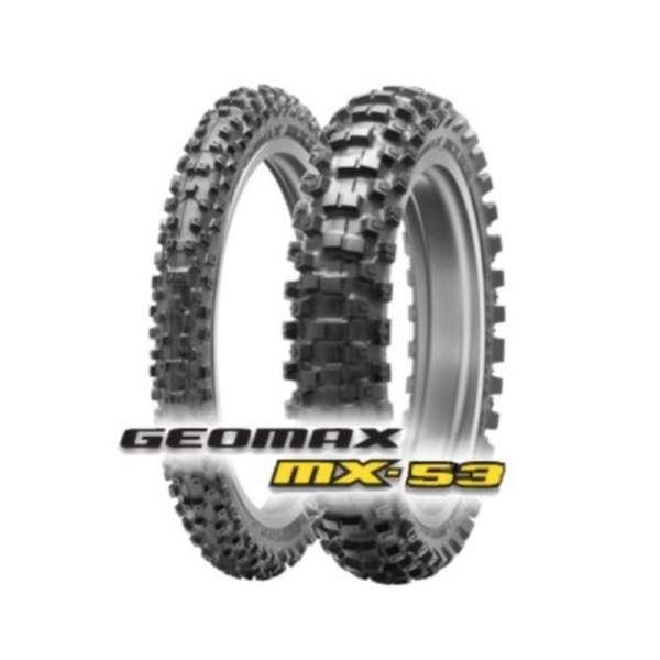 GEOMAX MX53 120/80-19 63M TT DUNLOP