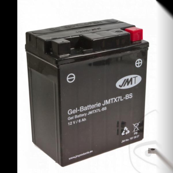 Batería moto YTX7L-BS Gel
