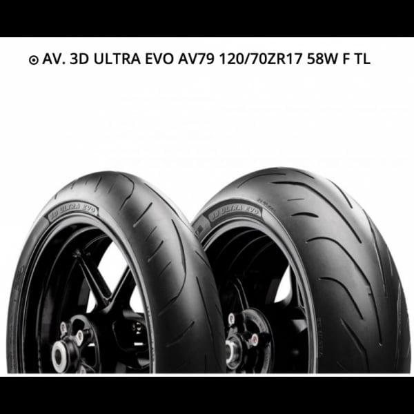 AVON 3D ULTRA EVO 120/70ZR17 58W F TL