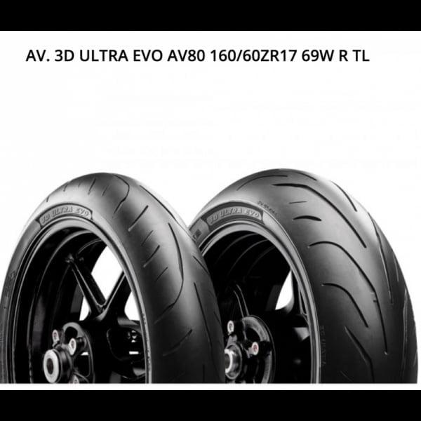 AVON 3D ULTRA EVO 160/60ZR17 69W R TL