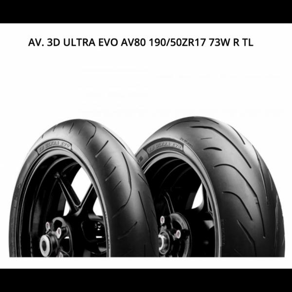 AVON 3D ULTRA EVO 190/50ZR17 73W R TL