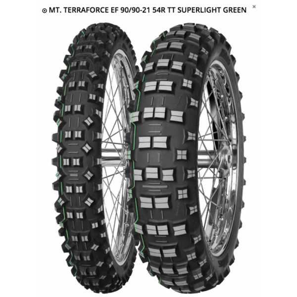 MITAS TERRA FORCE EF 90/90-21 54R TT SUPERLIGHT GREEN