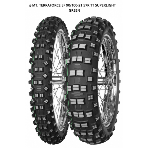 MITAS TERRA FORCE EF 90/100-21 57R TT SUPERLIGHT GREEN
