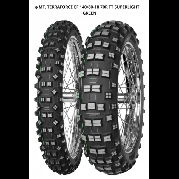 MITAS TERRA FORCE EF 140/80-18 70R TT SUPERLIGHT GREEN
